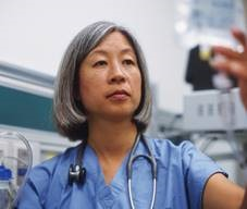 photo of a nurse