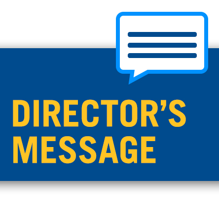 Director's Message graphic