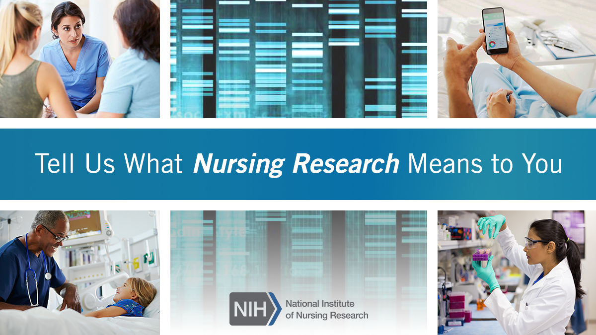 Images of what nursing research means to different people